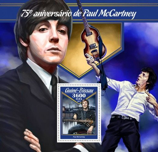 GB17007b 75th anniversary of James Paul McCartney (Paul McCartney)