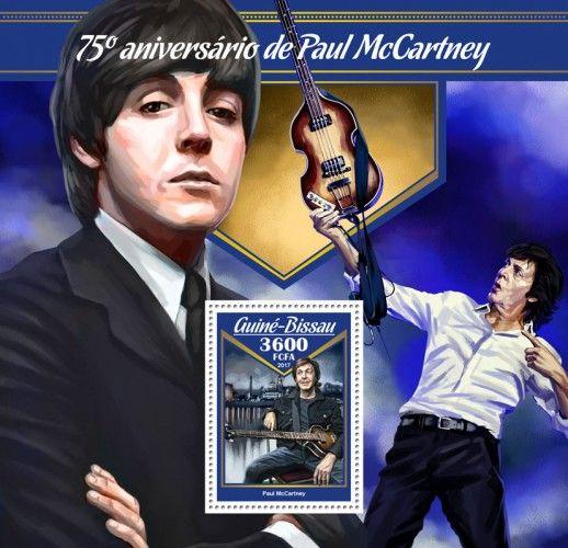 GB17007b 75th anniversary of James Paul McCartney (Paul McCartney)
