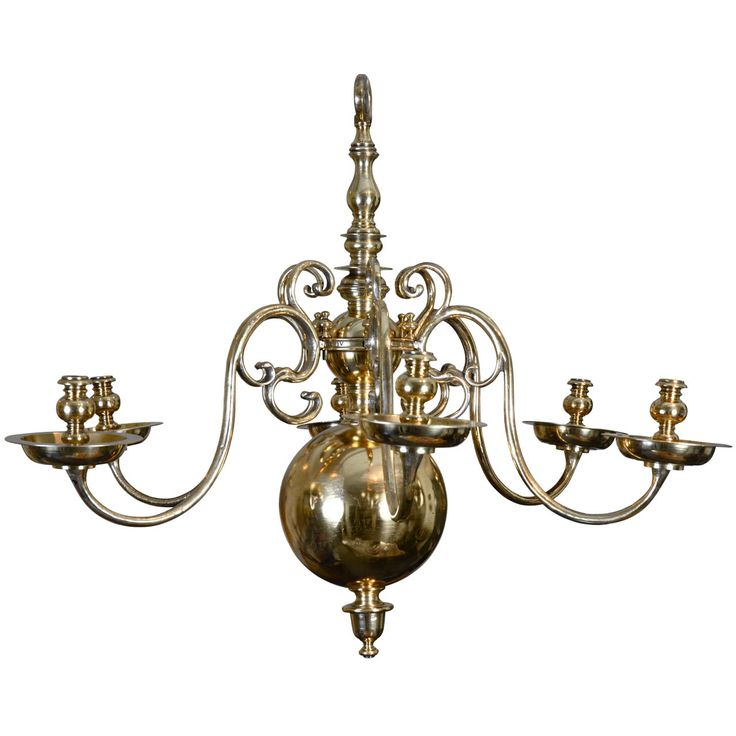 19th century dutch chandelier from a unique collection of antique and modern chandeliers and pendants