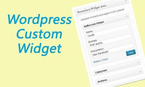 A Quick Guide to Creating Custom WordPress Widgets