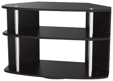 """Convenience Concepts Swivel TV Stand Black 32"""""""