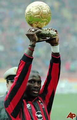 George Weah... Milan Legend!