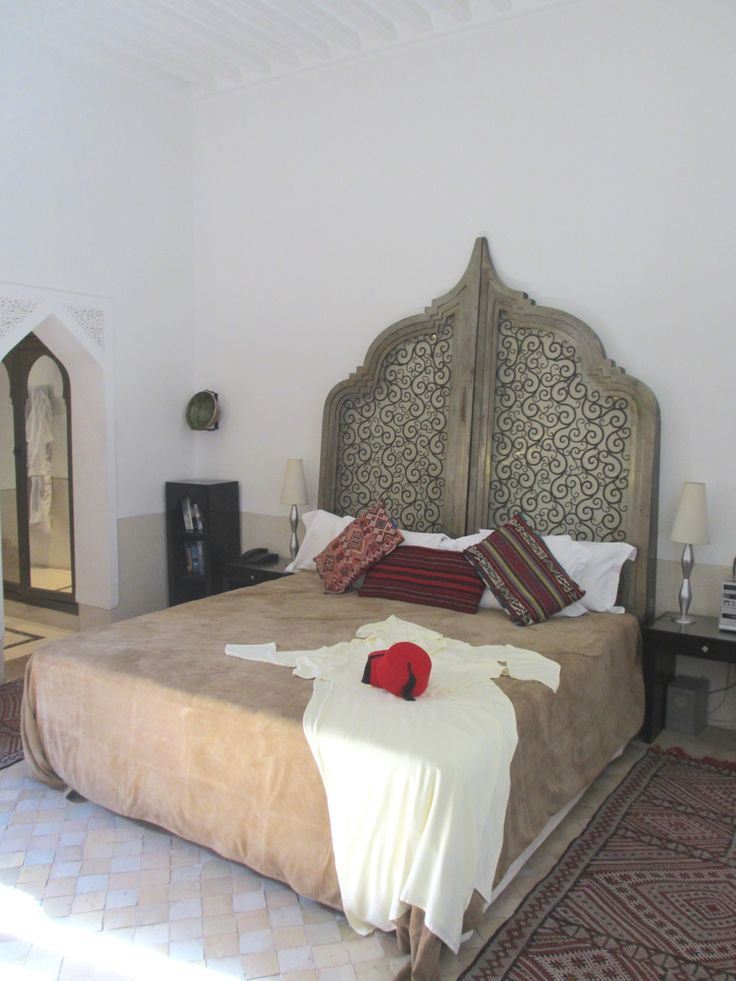 Gorgeous Headboard Hotel Review Luxurious Riad Farnatchi
