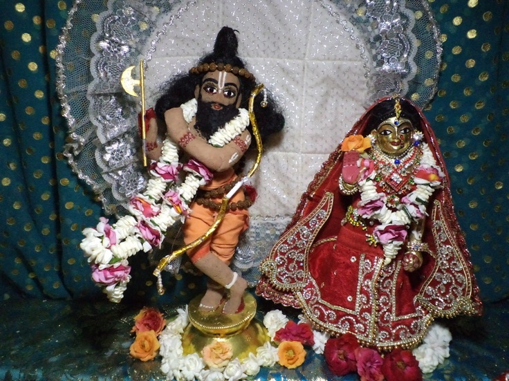 parsuram vesa for chandan yatra at ISKCON Kaundanyapur