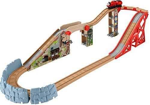 DIY Outdoor Train Table: a Wooden Train Garden Railway - Play Trains!