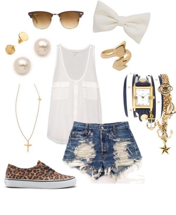 golden accessories + leopard print sneaker