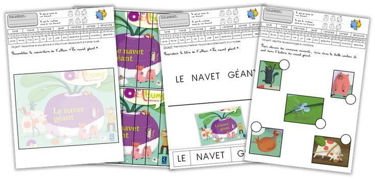 Bonjour tout le monde ! Aujourd'hui, je vous propose un petit dossier que j'avais réalisé pour travailler sur l'Oralbum «Le Navet Géant» des Éditions Retz.…