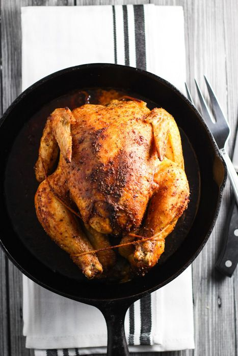 Easy Roasted Chicken is simple to prepare. This perfect recipe results in crispy skin and juicy meat, with a simple pan gravy to finish things off.