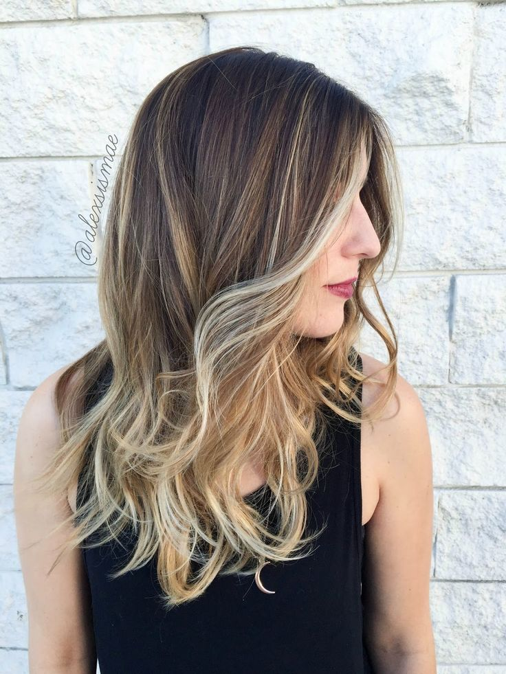 Alexsis Mae : Fall Sombre Hair Color ft. NEW Redken Shades ...