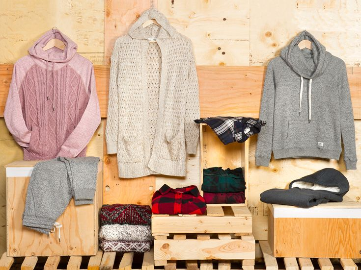 Super cozy gifts for lounging around or roasting chestnuts by the fire.
