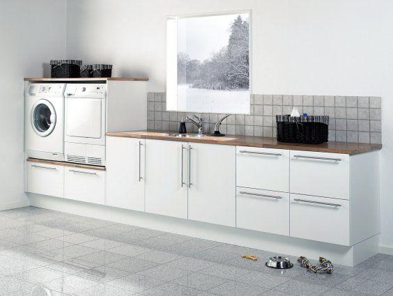 Skuffer under vaskemaskine og tørretumbler