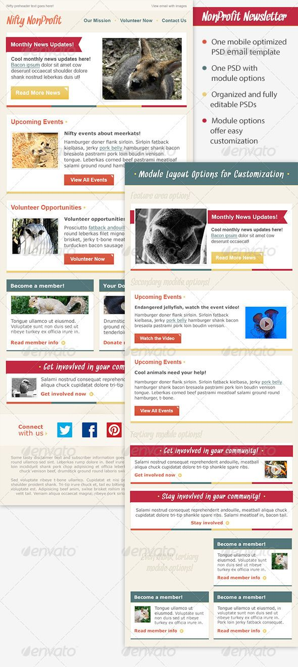 Best Email Marketing Images On   Email Newsletter