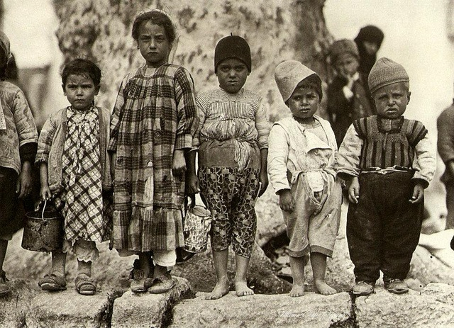 Istanbul Children by Ottoman History Podcast, via Flickr. This photo, taken right after the Allied powers' withdrawal from Istanbul on October, 6, 1923, reflects the degree of poverty in the Muslim districts of Istanbul during the years of foreign occupation between November 1918 and October 1923...