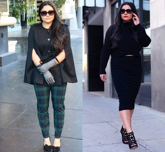On Trend And Elegant Looks For: 25 Elegant Fall 2016 Plus Size Outfits For Curvy Ladies