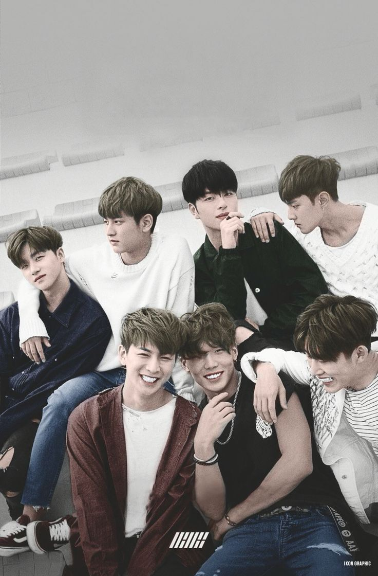 iKON Wallpaper  Cr: @iKONGraphic