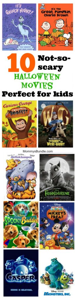 The BEST Halloween movies for little kids! Just a little spooky, but nothing to scary for toddlers and preschoolers!