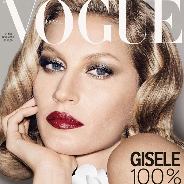 Capa da Vogue Brasil de dezembro com Gisele Bundchen