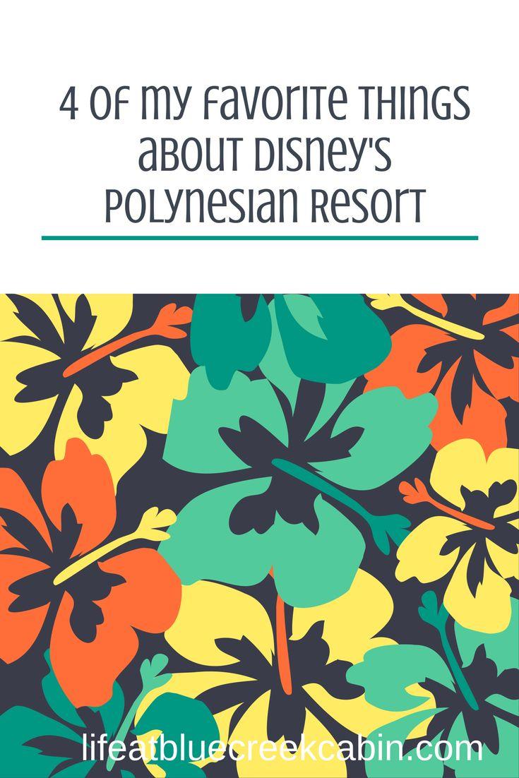 Disney World, Polynesian Village Resort