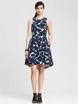 I like the print and cut, though sometimes fit and flare dresses overaccentuate my hips.
