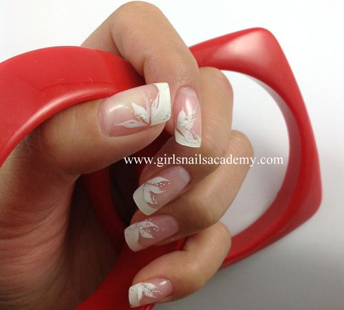 faux ongles whiteflo girls n 976 gel uv sur capsules. Black Bedroom Furniture Sets. Home Design Ideas