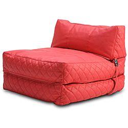 Austin Red Bean Bag Chair Bed