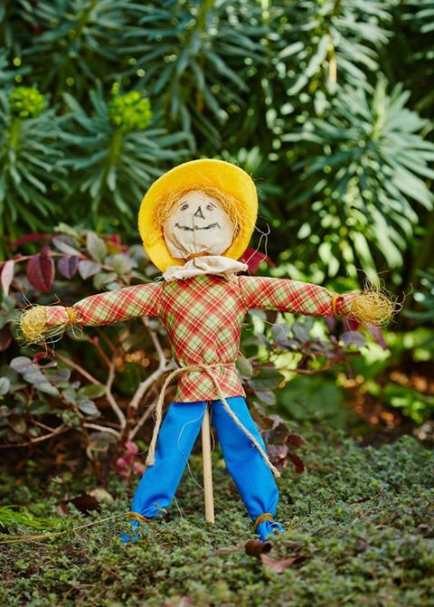 Don't be scared off that it's Friday 13th! Let the WIPPERS D.I.Y. Mini Scarecrow do the scaring instead, coming to Bunnings this October!