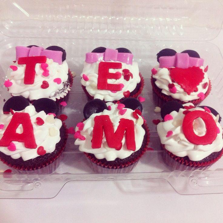 Feliz día del Amor y la Amistad con unos Cupcakes So Sweet! #SoSweet #Cupcakes #CupcakeFactory www.SoSweet.com.co