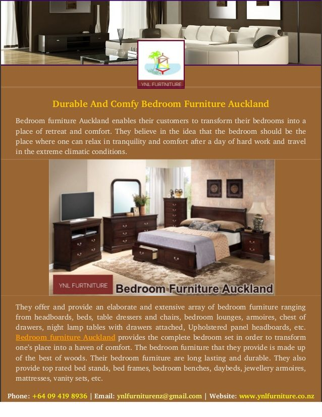 Durable And Comfy Bedroom Furniture Auckland