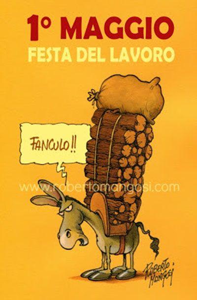 La festa del lavoro...col binocolo #IoSeguoItalianComics #Satira #Politica #Comics #primomaggio #festadellavoro #Lavoro