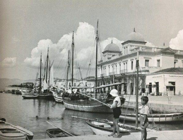 Xαλκίδα 1935/ Chalkis, Greece 1935/  Μαρία Χρουσάκη (1899-1972)