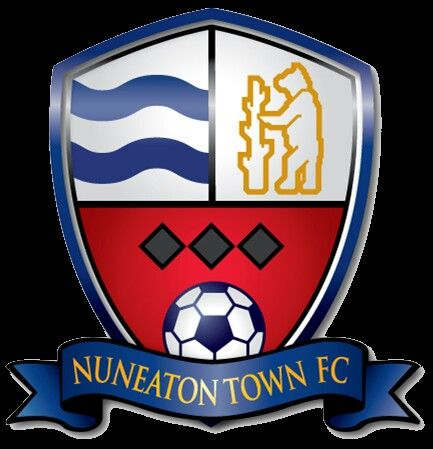 Nuneaton Town of England crest.