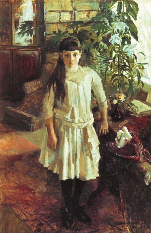 AKSELI GALLEN-KALLELA  Portrait of Sissi Serlachius
