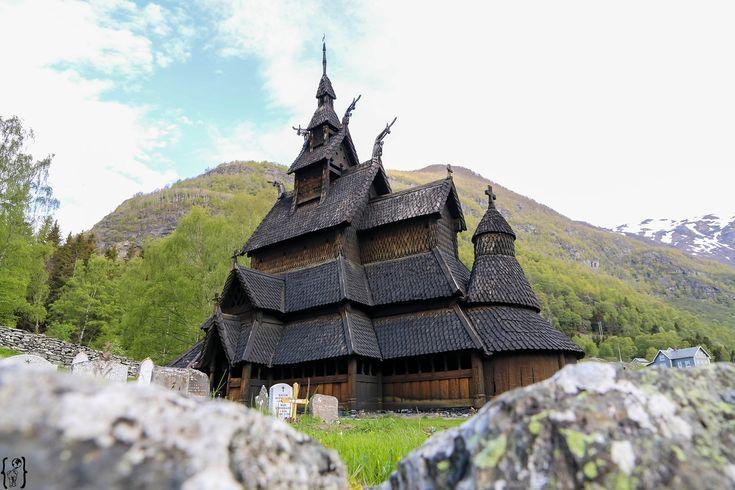Stabkirche Borgund / Norwegen