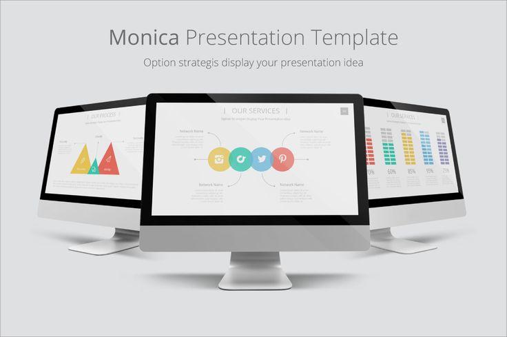 Monica Presentation Template - Presentations - 1