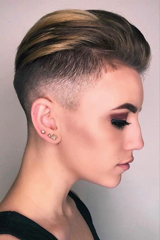 Epingle Par Bc Sur Short Hair Coiffure Undercut Coupe Undercut Coupe Courte