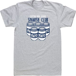 7 best images about spanish club on pinterest spanish for T shirts for clubs