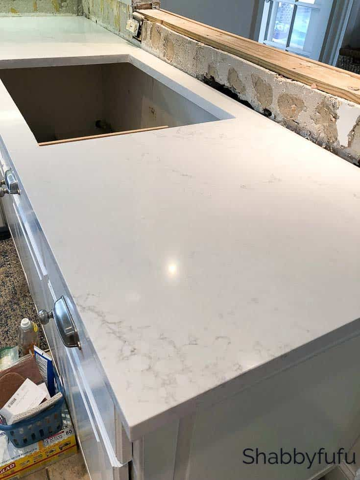 Quartz Countertop Installation In The Kitchen How To Install