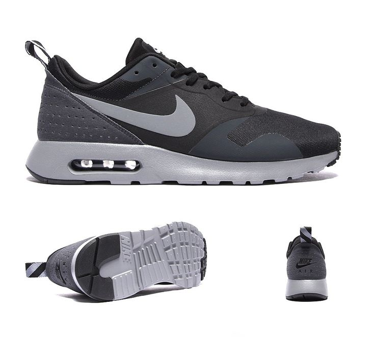 Nike Air Max Tavas Trainer: Black/Cool Grey/Anthracite
