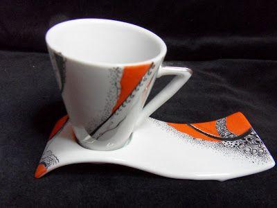 peinture sur porcelaine commande sur mesure caneca de porcelana pinterest search. Black Bedroom Furniture Sets. Home Design Ideas