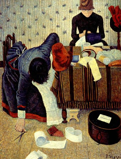 Paul Signac The Milliners 1885-86