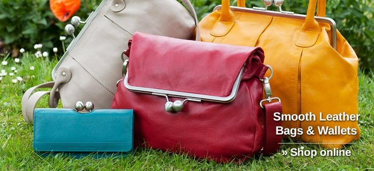 Smooth Leather Bags & Wallets