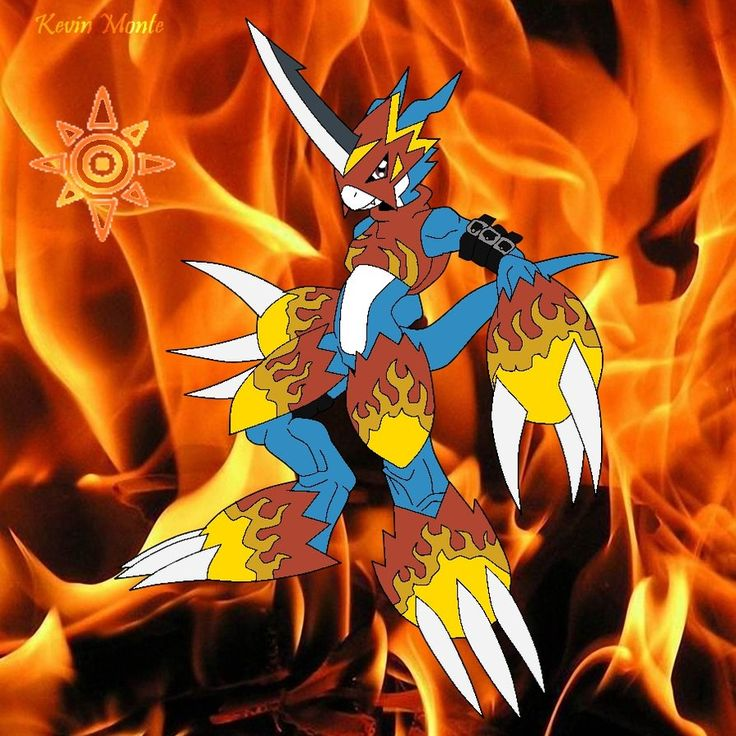 Digimon Wallpaper: 25 Best Flamedramon And Armor Digimon Images On Pinterest
