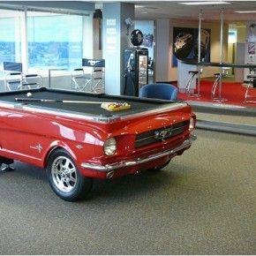 Mesa de Pool Ford Mustang | MUNDO FLANEUR