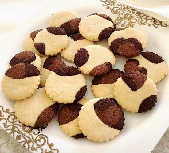 Çayın yanına en çok sevilen kurabiyelerden leopoar desenli nefis kurabiye 😋 Hadi hanımlar 5 çayına yetiştirmeye ne dersiniz
