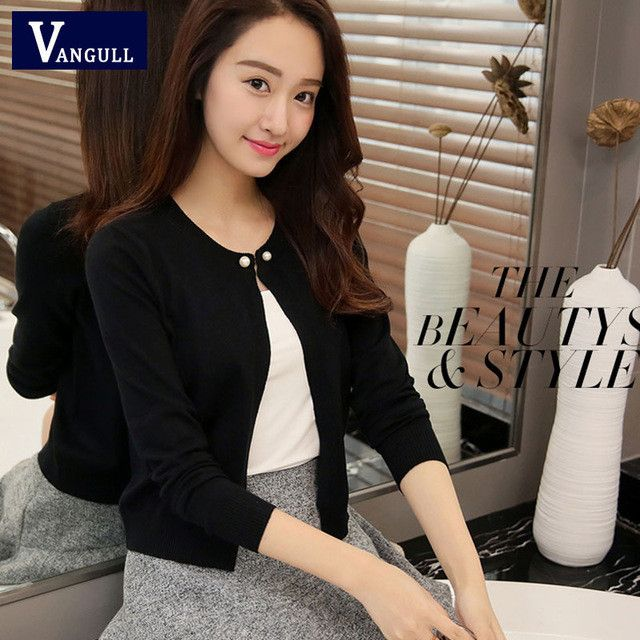 2016 high quality Spring autumn sweater women cardigan sweater Solid color One button women's cashmere sweater