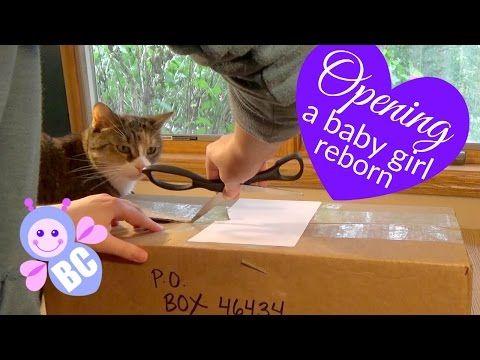 Opening My Newest Reborn | Baby Girl Realistic Doll | Unboxing | Saryah's Reborn Nursery | Paulino - YouTube