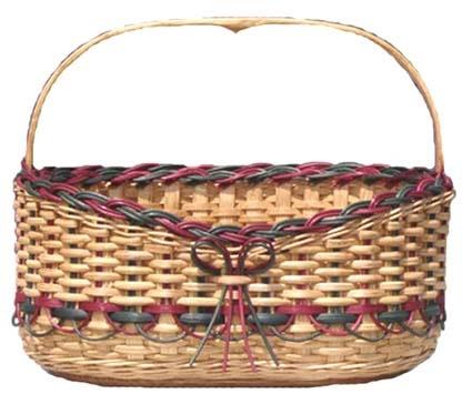 Piper's Bureau. Pattern by Sherry Stephens of Basket Basics.
