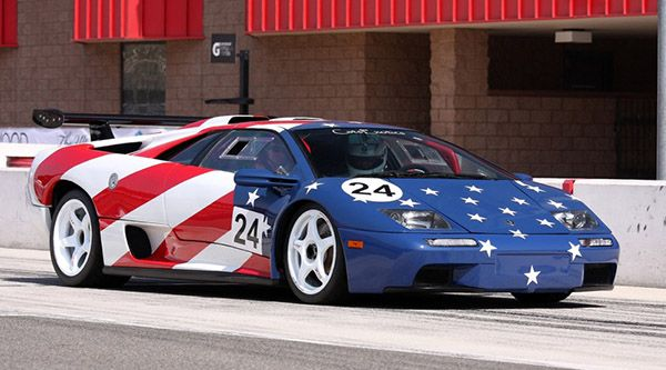 Patriotic American Cars With Flag Paint Jobs Rods N Muscle Cars