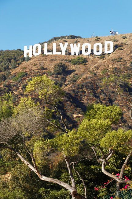 the Hollywood Sign- didn't manage to get this close!