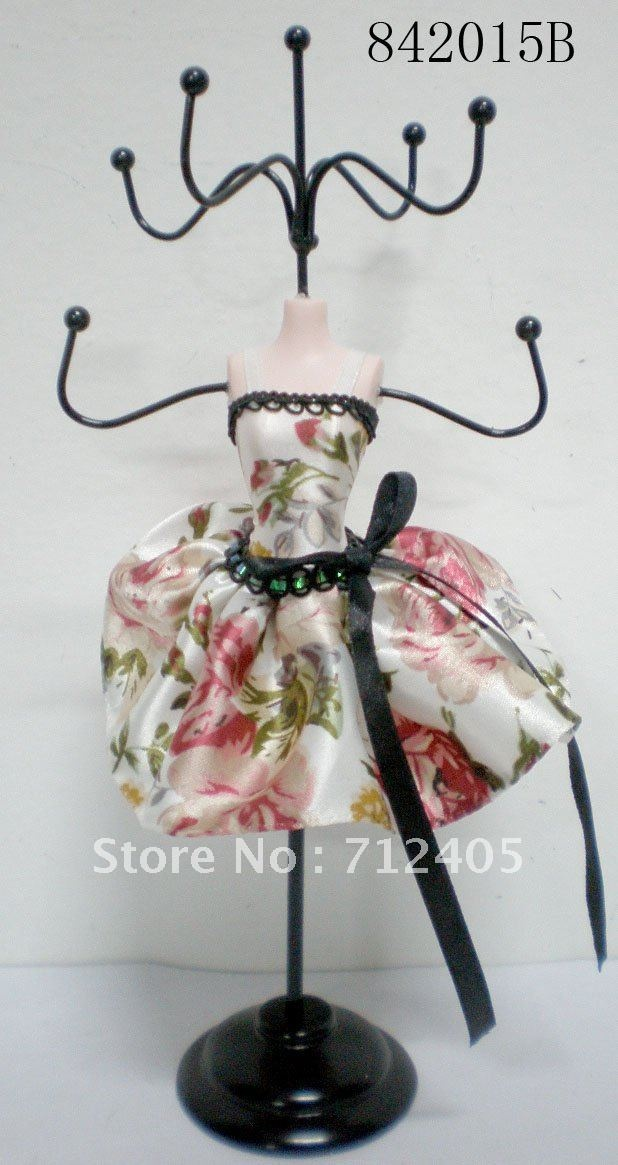 Aliexpress.com : Buy fashional doll jewelry doll display stand from Reliable Necklace display stand suppliers on Nick Tang's store